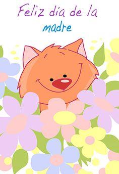 """Feliz Dia De La Madre"" printable card. Customize, add text and photos. Print for free!"