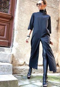NEW Collection SS/15 Black Extravagant Maxi Dress B03179