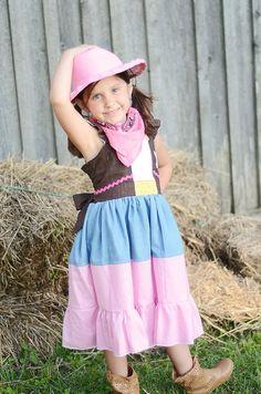 Sheriff Callie Dress Sherif Callie Inspired by APoshPumpkin, $37.00