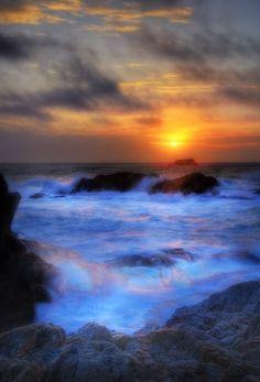 #HDR Vibrant Sunset 2 HDR By: Kurt Nielsen