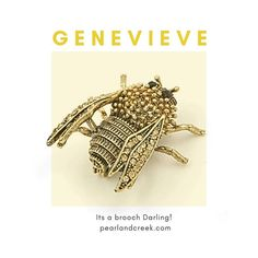 When it comes to style, details like an amazing brooch can make all the difference between brilliant or broke... this dreamy Genevieve Cicada Brooch is Brilliant and looks amazing against black, strong and even pale colours. The detail is delicious..  #brooch #jewellery #costumejewelry #insectbrooch #classy #over30 #fashion