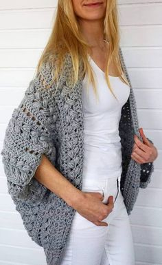 Cute and Easy Stylish Sweater & Cardigan Crochet Patterns Images for 2019 - Page 20 of 47 - Crochet & Knit - Cardigan , Coat - Crochet Sweater Design, Crochet Cardigan Pattern, Crochet Shirt, Crochet Jacket, Crochet Patterns, Crochet Tops, Chunky Crochet, Crochet Sweaters, Easy Crochet
