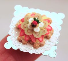 12th scale handmade dollhouse miniature fruit by linsminis on Etsy, $24.00