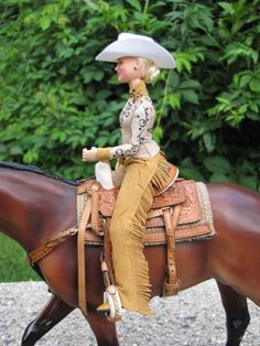 western rider doll for Breyer, Peter Stone, resin horses,Yvonne Zica Obitsu