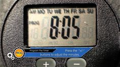 Programing The Timer - (part 2 of 6) Control your outdoor lights with GE Model 15142 Outdoor Digital Timer. GE Outdoor Digital Timers are great for controlli...