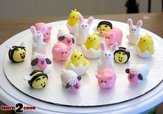 How to: Easter cupcake toppers