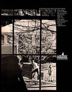 1970 Life Of Virginia Insurance Company Vintage Print Ad