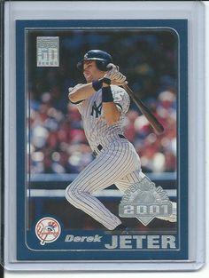2001 Topps Opening Day Derek Jeter baseball card #35 (New York Yankees)