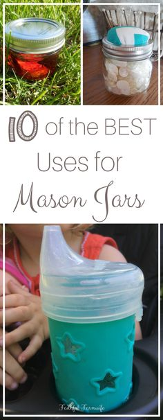 Mason jars have become a trend recently, but these jars were extremely useful for many years before the trend. Check out 10 of the best mason jar uses!