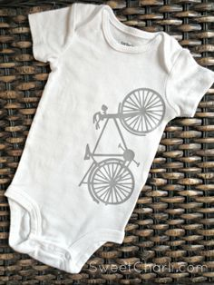 Sweet Charli: DIY Onesies for Babies. a great way to personlize!