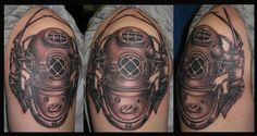 diver tattoos - Google Search