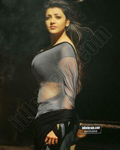 Kajal Aggarwal Beautiful Saree, Beautiful Indian Actress, Profile Picture For Girls, Casual Saree, Famous Girls, Indian Beauty Saree, Saris, India Beauty, Hottest Models