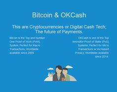 #Bitcoin and #OKCash Perfect Duo for Payments