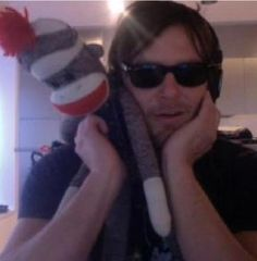I always wanted a sock monkey...especially now that I know it comes with Norman Reedus