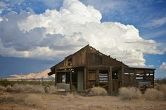 Route 66, Home, Abandoned Mine, East Danby, Mojave Desert, CA California, abandoned building