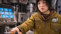 Star Wars' Kelly Marie Tran Discusses Abuse From Fandom Rian Johnson, Disney Animated Films, Romantic Gestures, Twitter Trending, For Stars, S Star, In Hollywood, American Actress, Military Jacket
