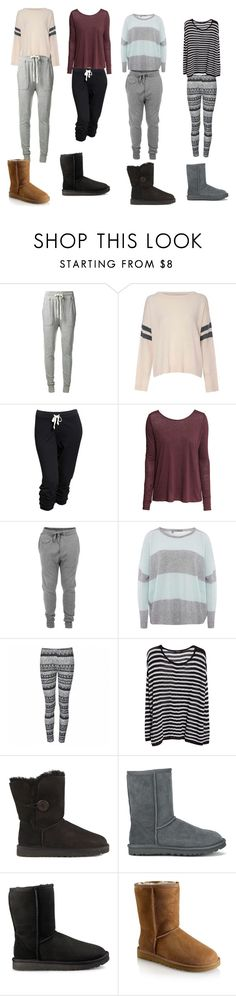 """""""casual"""" by meghan-white2 on Polyvore featuring James Perse, Glamorous, Old Navy, H&M, Diesel, 360 Sweater, Ally Fashion, MANGO, UGG and UGG Australia"""