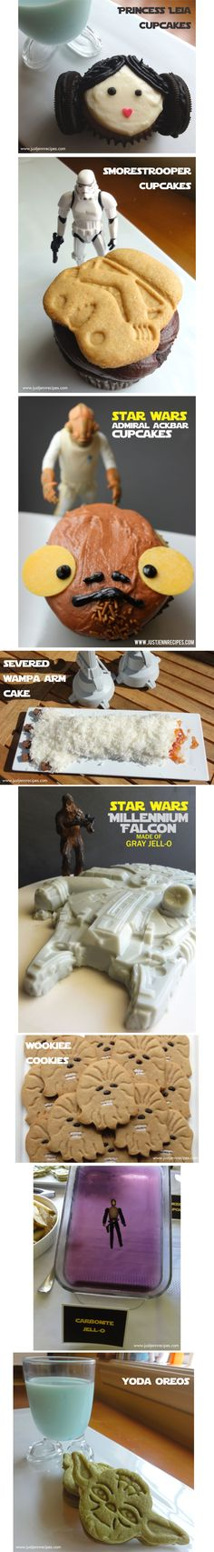Star Wars recipes for May The 4th l justjennrecipes.com