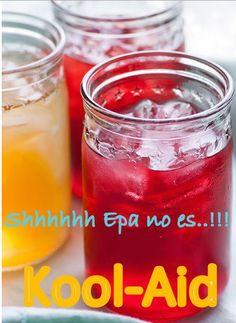 Hagamos Cool Aid no Kool-Aid….!!!!  Ya sé que estas pensando parece Kool-Aid parece pero no es…!!!  Es una bebida a base de Té con sabores frutales mi favorito es el de durazno.