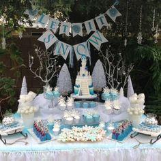 Talia's Frozen Winter Wonderland | CatchMyParty.com