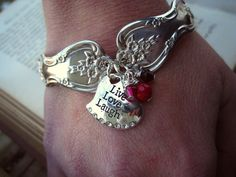 Spoon Bracelet  Vintage Bracelet by MoobieGraceDesigns <3