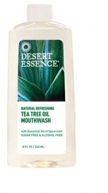 $5.99 - Tea Tree Oil Mouthwash | Desert Essence - I have this mouthwash and it works! Leaves your mouth feeling very fresh. Best part is? The ingredients are safe and natural.