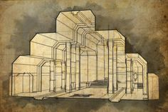 Erebor Throne Room Perspective1 by Meanor