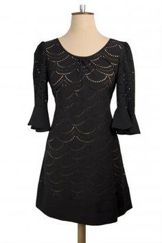 Winter Friday Dress, Black