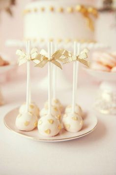 Simple but cute cake pops