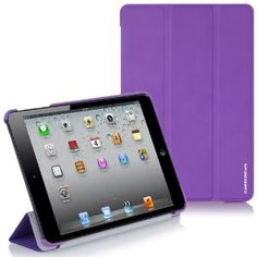 Birthday gift:CaseCrown Omni Case (Purple) for Apple iPad Mini (Built-in magnetic sleep / wake feature)