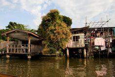 Dicas de Bangkok: um roteiro na capital da Tailândia - (Dicas de Bangkok: povo ribeirinho do rio Chao Phraya) #voali