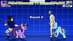 Twilight Sparkle & Sasuke Uchiha VS Michael Jackson & Rainbow Dash In A MUGEN Match / Battle / Fight This video showcases Gameplay of Twilight Sparkle From The My Little Pony Friendship Is Magic Series And Sasuke Uchiha From The Naruto Series VS Michael Jackson And Rainbow Dash In A MUGEN Match / Battle / Fight