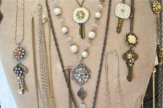 The Polka Dot Closet: Making Jewelry With Pieces Of Vintage ...