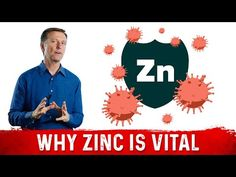 In this video, I'm going to talk about zinc and your immune system. Palmer College Of Chiropractic, Doctor Of Chiropractic, Dr Eric Berg, Dr Berg, Good Sources Of Zinc, Zinc Supplements, Special Education Math, Zinc Deficiency, Healing Heart