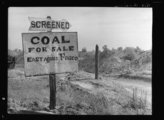 Strip mining dumps. Cherokee County, Kansas 1936