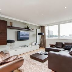 Contemporary Living Room Design, Pictures, Remodel, Decor and Ideas - page 5
