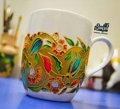Hand-painted mug (kolbeh_shishei)
