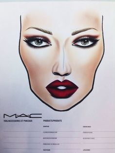 Viva glam III facechart