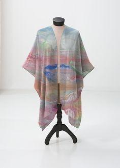 Sheer Wrap - Arabesqe with color by VIDA VIDA pvSY6Q