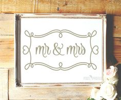 Mr and Mrs SVG cut file, Wedding by pixelphoenixdesigns on Etsy