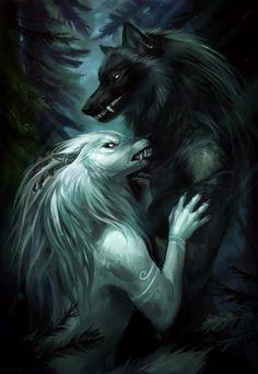 The Wolf Who Sat in a Tree by Kipine on DeviantArt Fantasy Wolf, Dark Fantasy Art, Alpha Wolf, Wolf Artwork, Werewolf Art, Wolf Spirit Animal, Vampires And Werewolves, Wolf Wallpaper, Wolf Love