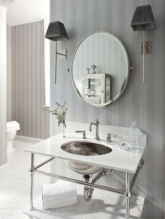 Timeless Black and White Master Bathroom Makeover : Rooms : Home & Garden Television