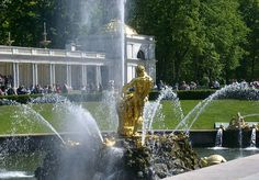 Fountain Season Opens in Peterhof on May 16th - Courtesy of Dancing Bear Tours - https://dancing-bear-tours.com/ - St Petersburg Tours & St Petersburg Shore Excursions