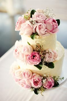 61 Ideas Diy Wedding Table Budget For 2019 Floral Wedding Cakes, Fall Wedding Cakes, Wedding Cakes With Flowers, Elegant Wedding Cakes, Elegant Cakes, Beautiful Wedding Cakes, Gorgeous Cakes, Pretty Cakes, Floral Cake