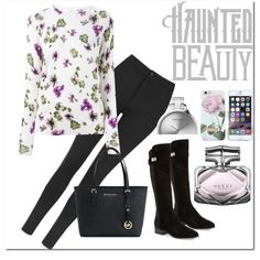 Lavender  by amnaaurangzeb on Polyvore featuring polyvore, fashion, style, Equipment, Topshop, Nicole Miller, Michael Kors, Georg Jensen, Ted Baker and Gucci