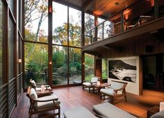 Gotta have a wall of windows in my home =)