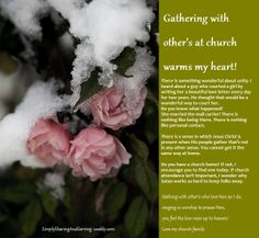 http://simplysharingandserving.weebly.com     LOVE my Sisters in Christ ( and my brothers too....)   Love gathering and knowing they are there.   No matter where they may live in the world.