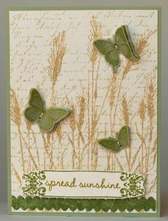Grass and butterflies (March challenge) | Flickr - Photo Sharing!