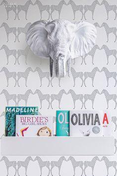 23 Must-See Fabrics and Wallcoverings   Jill Malek's Zee by Sissy + Marley. #design #interiordesign #interiordesignmagazine #wallcoverings
