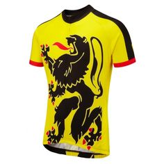 Lion of Flanders Road Cycling Jersey    For those of you who are fans of the cobbles or want to pay homage to the King of the Classics, Lions of Flanders is the one for you!